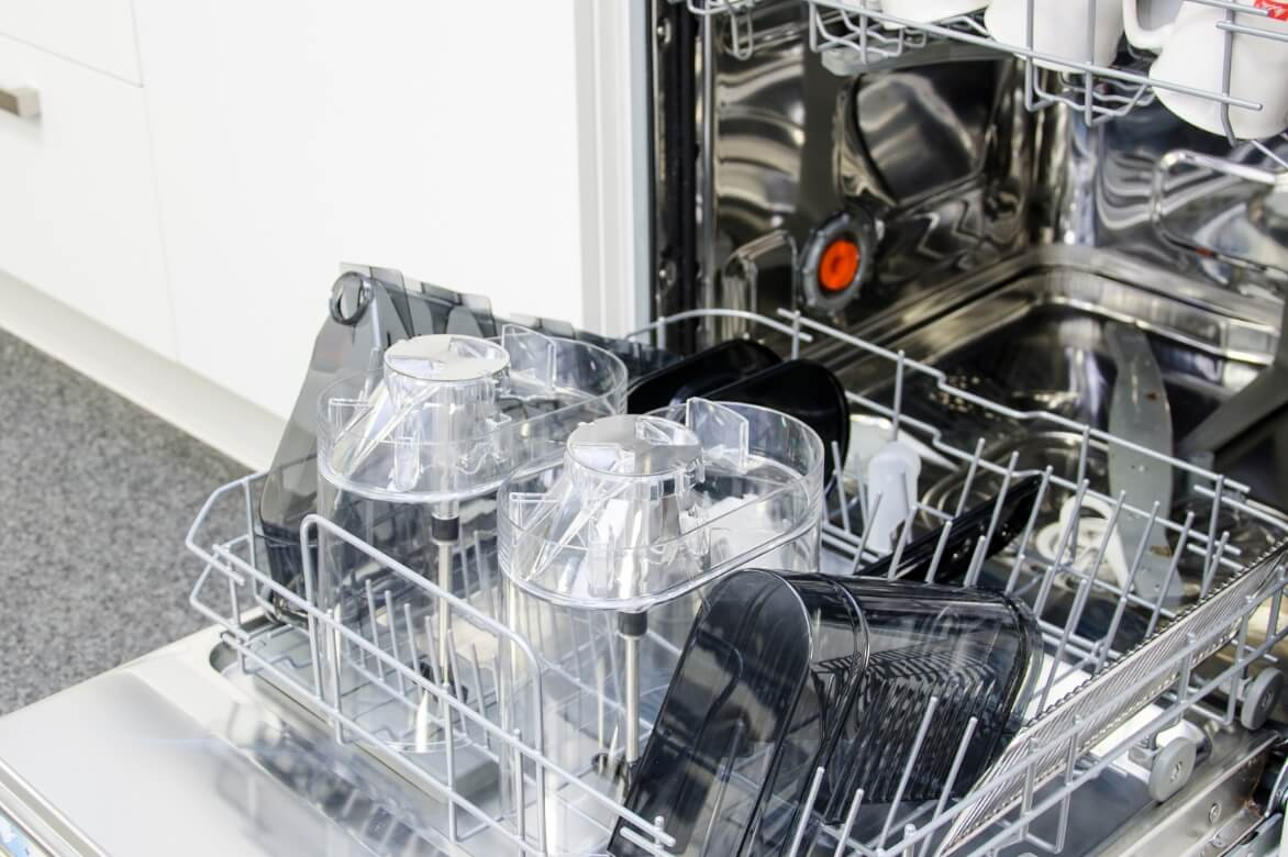 Wash in the dishwasher
